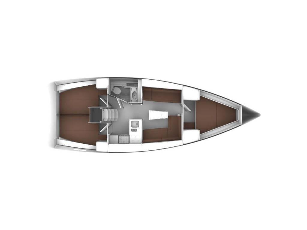 Bavaria Cruiser 37, Maestral
