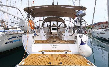 Bavaria Cruiser 37, El mar