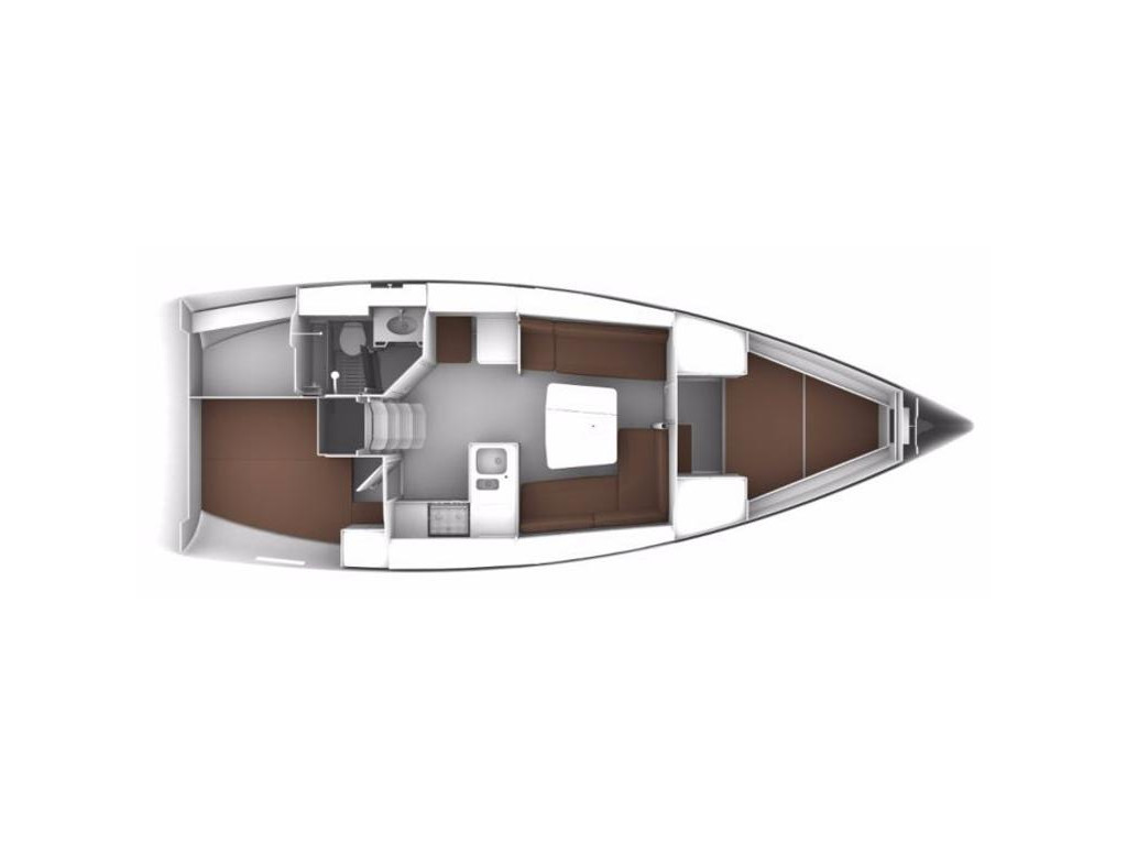 Bavaria Cruiser 37, El mar