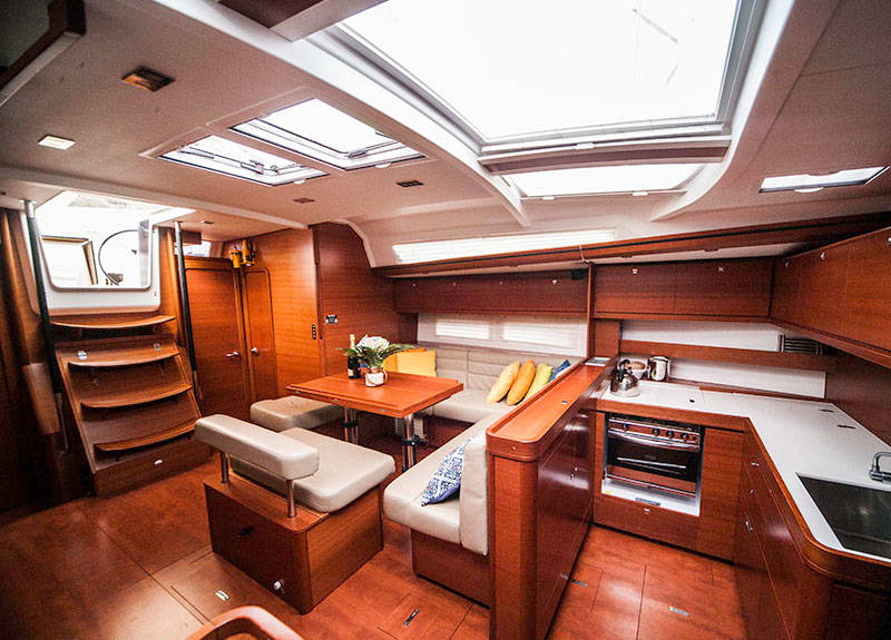Dufour Exclusive 56, TEFNUT - FULLY EQUIPPED
