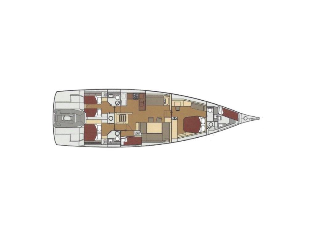 "Dufour Exclusive 63, Bahia Feliz 5 ""bareboat"""