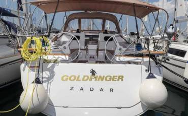 Elan Impression 45, Goldfinger with AC