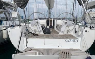 Hanse 445, Kazhdy - renewed 2017