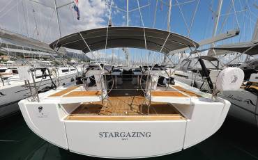 Hanse 548 Stargazing