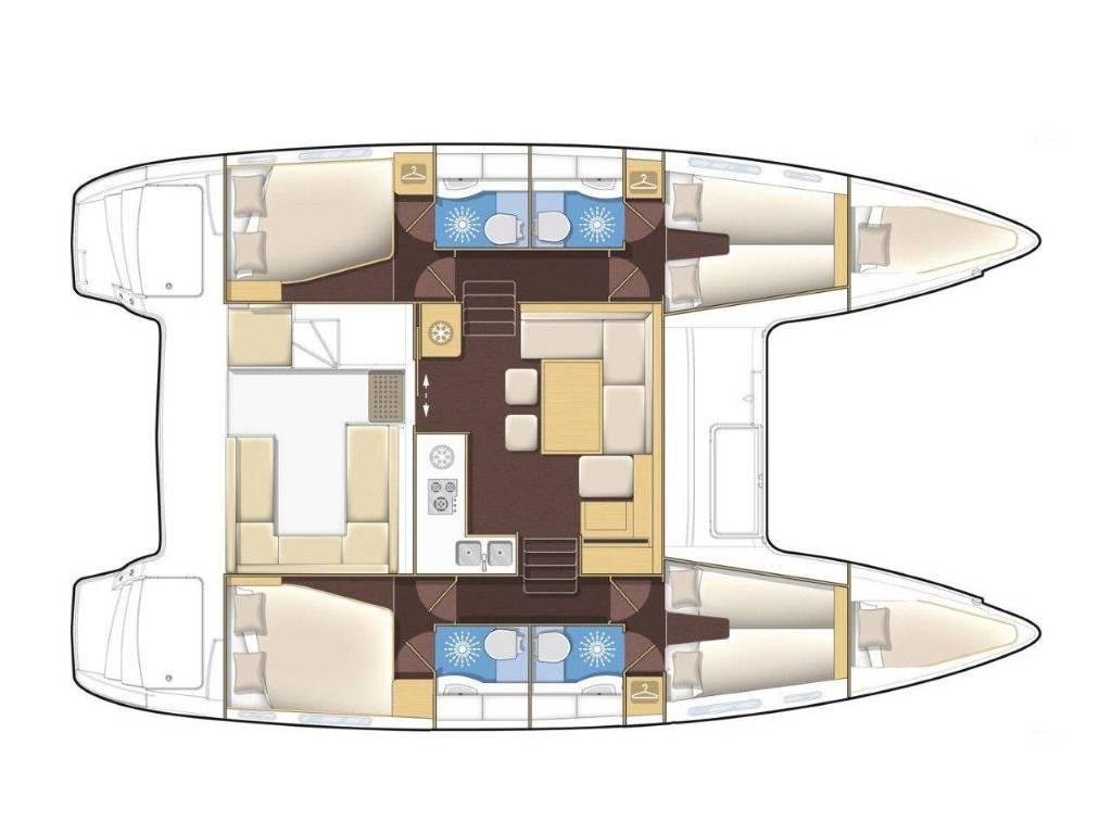 Lagoon 400 S2, Babulica