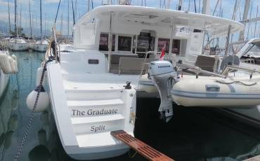 Lagoon 450, The Graduate- A/C, GEN