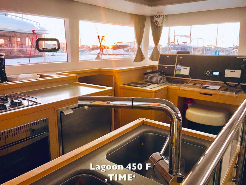 Lagoon 450, TIME