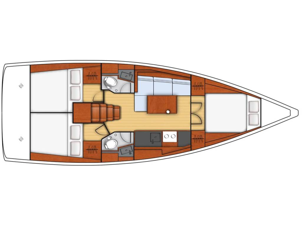 Oceanis 38.1, Obsession