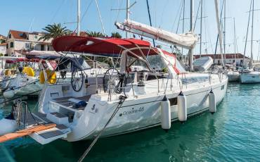 Oceanis 48, Summer Dream with AC and generator
