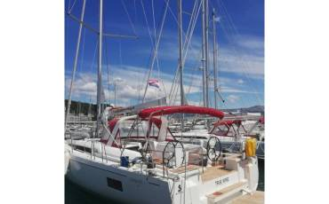 Oceanis 51.1, True Wind with AC and generator