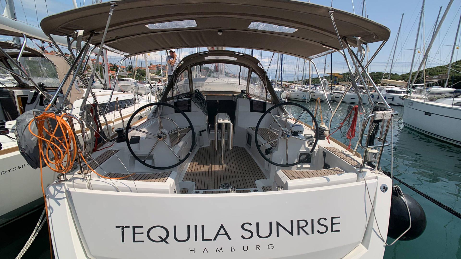 Sun Odyssey 389, Tequila Sunrise