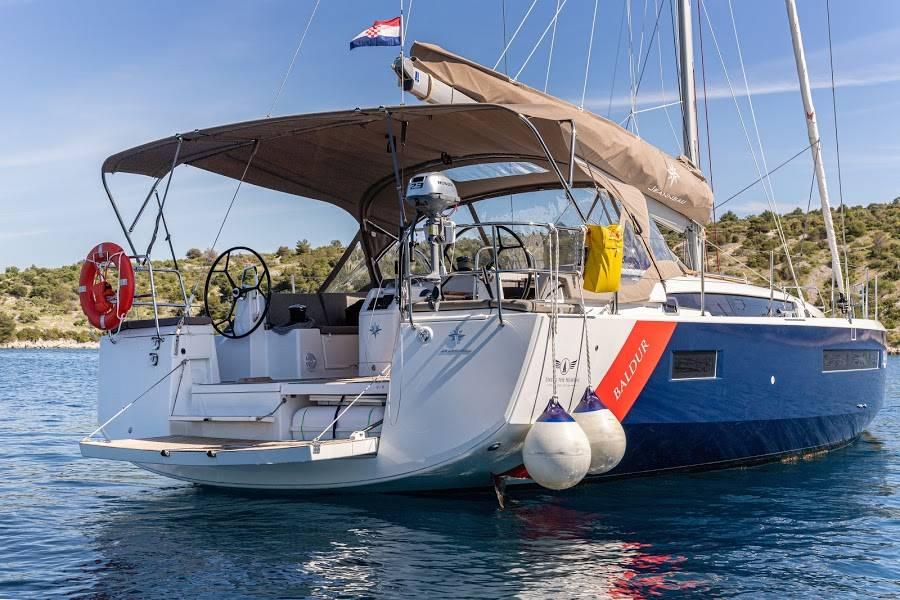 Sun Odyssey 490, BALDUR (BLUE HULL, AC+GEN,UNDERWATER LIGHTS)