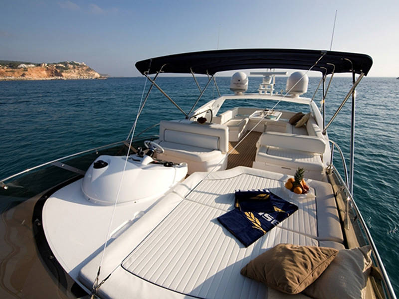 Sunseeker Manhattan 60, Ruckspin
